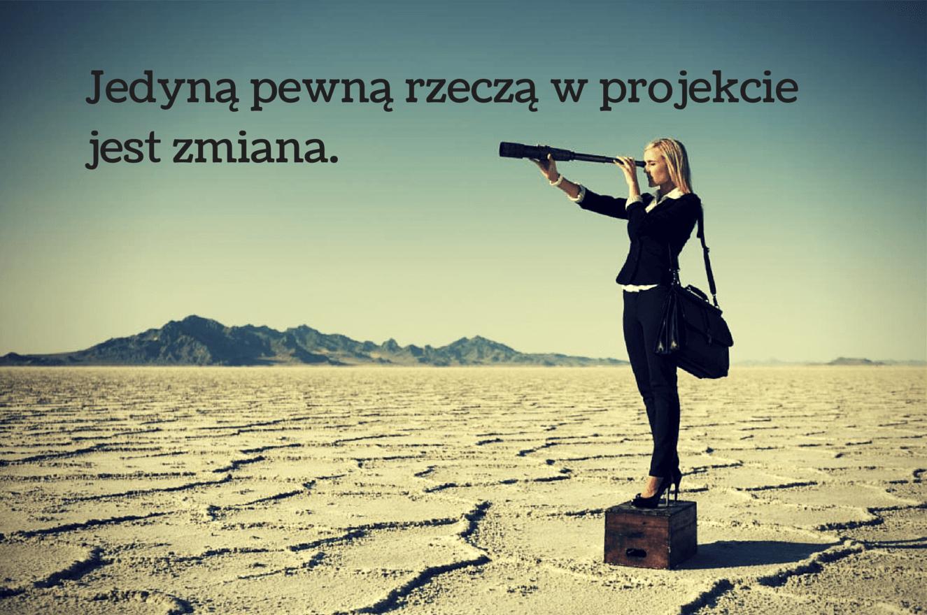 Zmiana w projekcie
