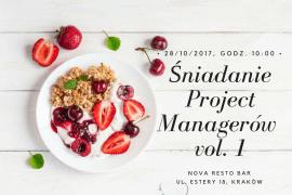 Śniadanie Project Managerów vol. 1