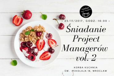 Śniadanie Project Managerów vol. 2