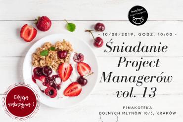 Śniadanie Project Managerów vol. 13