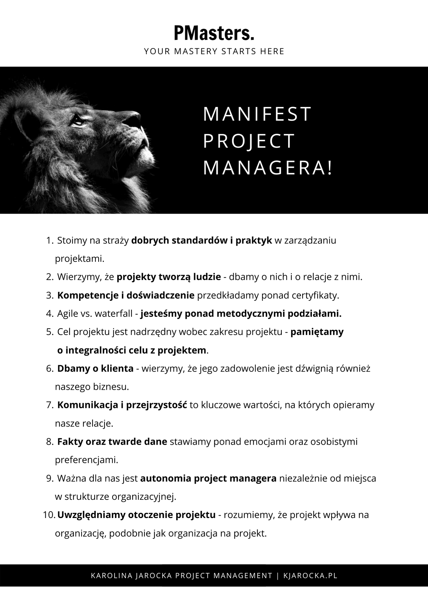 Manifest Project Managera