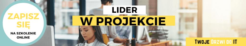 Lider w projekcie | Twoje Drzwi do IT